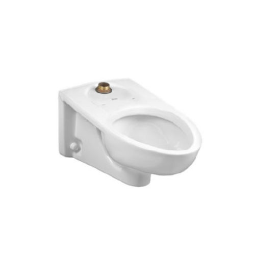 American Standard 2634.101.020 Afwall Toilet Bowl White
