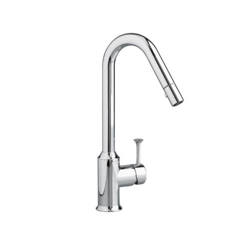 American Standard 4332.310.002 Pekoe Faucet Pullout Spray Single Hole Kitchen Faucet Polished Chrome