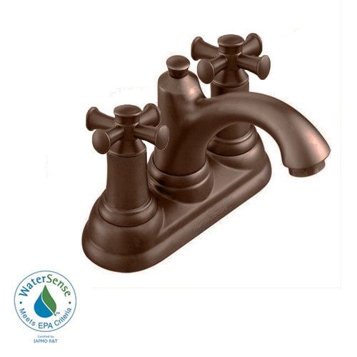 American Standard 7415.221.224 Portsmouth Centerset Bathroom Faucet Oil Rubbed Bronze