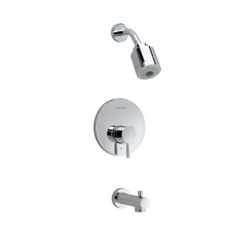 American Standard T064.508.002 Flowise Tub and Shower Faucet Polished Chrome