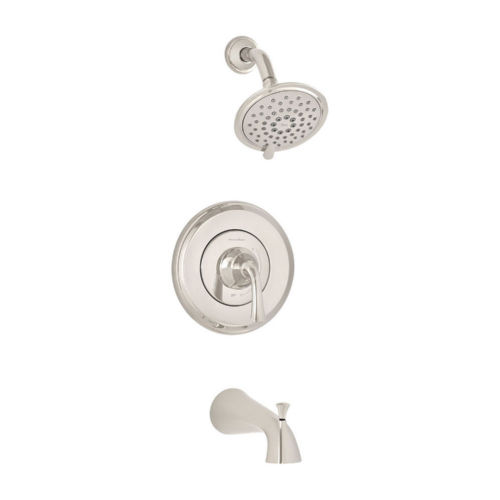 American Standard T106.508.013 Romantic Tub and Shower Faucet Polished Nickel