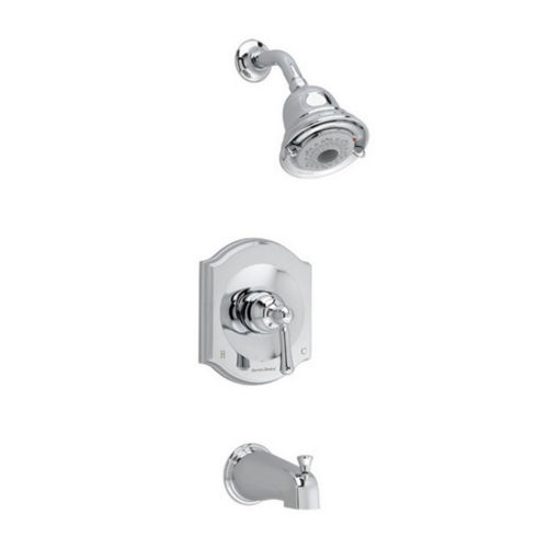 American Standard T415.502.002 Flowise Tub and Shower Faucet Polished Chrome
