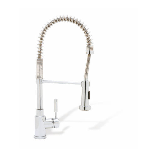 Blanco 440558 Meridian Pullout Spray Single Hole Kitchen Faucet Polished Chrome