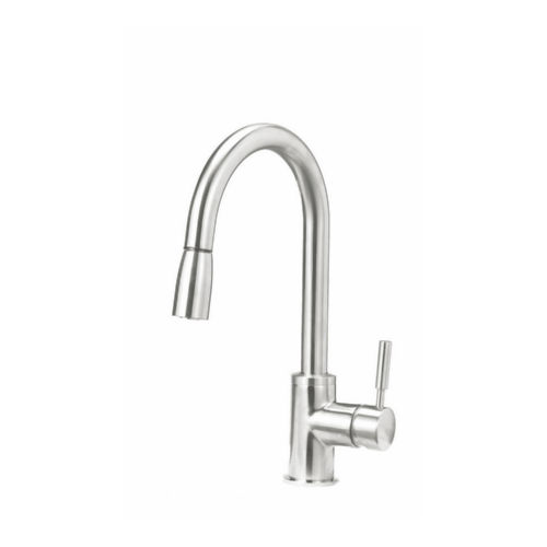 Blanco 441649 Sonoma Pullout Spray Single Hole Kitchen Faucet Stainless Steel