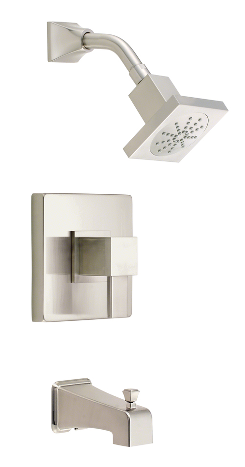 Danze D500033BNT Reef Tub And Shower Faucet Brushed Nickel