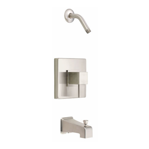 Danze D500033LSBNT Reef Tub and Shower Faucet Brushed Nickel