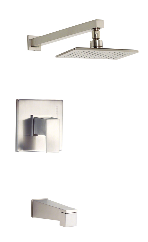 Danze D500062BNT Mid-Town Tub And Shower Faucet Brushed Nickel
