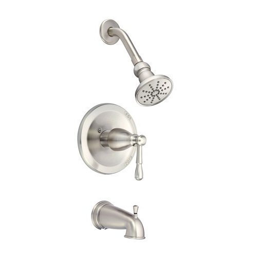 Danze D501015BNT Eastham Tub and Shower Faucet Brushed Nickel