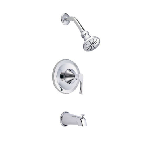 Danze D502022T Antioch Tub and Shower Faucet Chrome