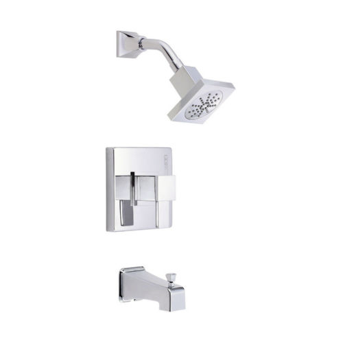 Danze D502033T Reef Tub and Shower Faucet Polished Chrome