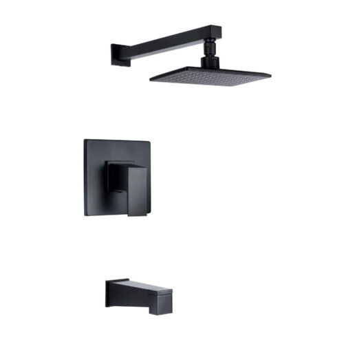 Danze D502062BST Mid-Town Tub And Shower Faucet Satin Black