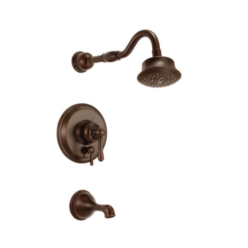 Danze D502257BRT Opulence Tub and Shower Faucet Tumbled Bronze