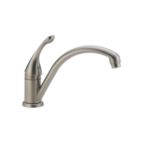 Delta 141-SS-DST Collins Single Hole Kitchen Faucet Stainless