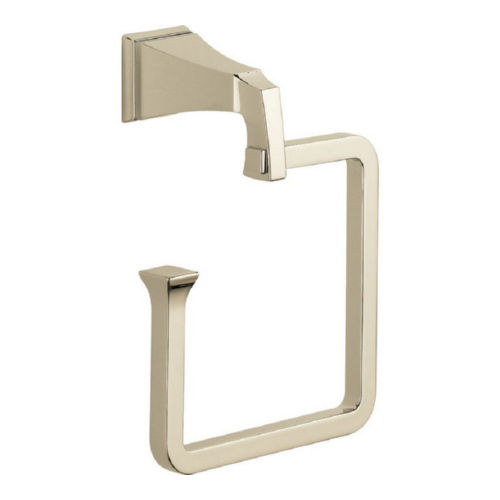 Delta 75146-PN Dryden Towel Ring Polished Nickel