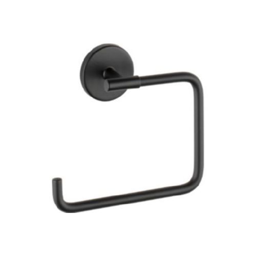 Delta 759460-BL Trinsic Towel Ring Matte Black