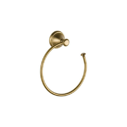 Delta 79746-CZ Cassidy Towel Ring Champagne Bronze