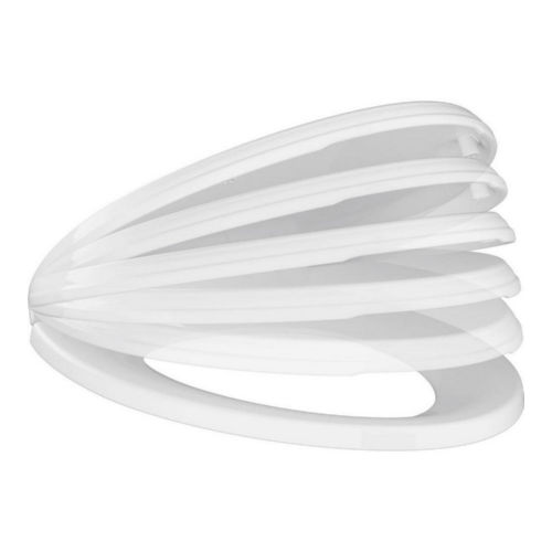 Delta 811901-WH Wycliffe Elongated Toilet Seat White
