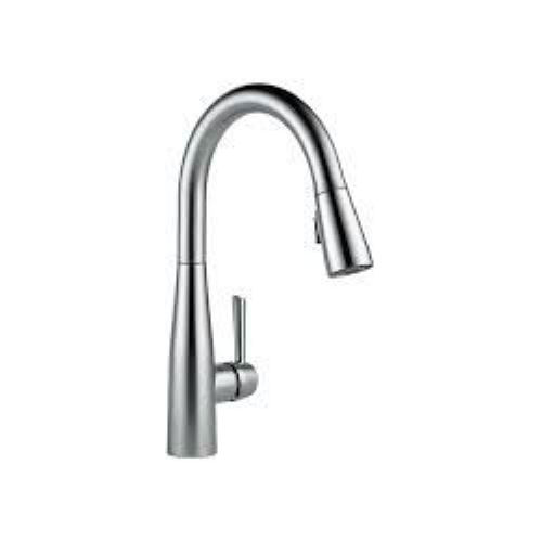 Delta 9113-AR-DST Essa Pullout Spray Single Hole Kitchen Faucet Arctic Stainless