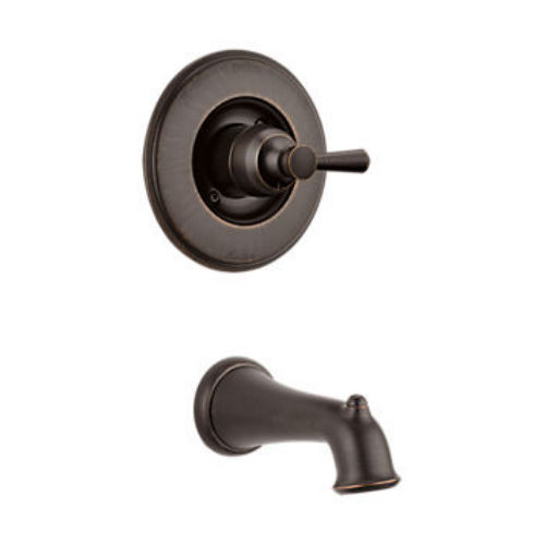 Delta T14193-RB Linden Tub And Shower Faucet Venetian Bronze
