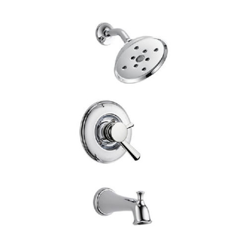 Delta T17493 Linden Tub And Shower Faucet Chrome