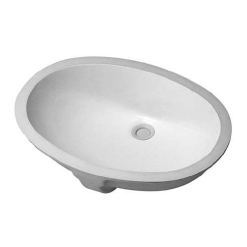 Duravit 0466510000 Undermount Porcelain Bathroom Sink White Alpin