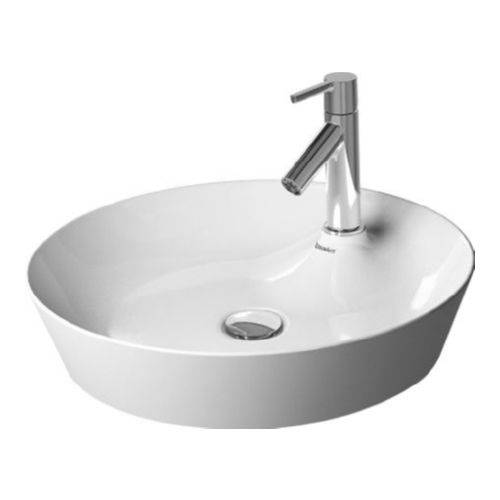 Duravit 23284800001 Cape Cod Vessel Vitreous China Bathroom Sink