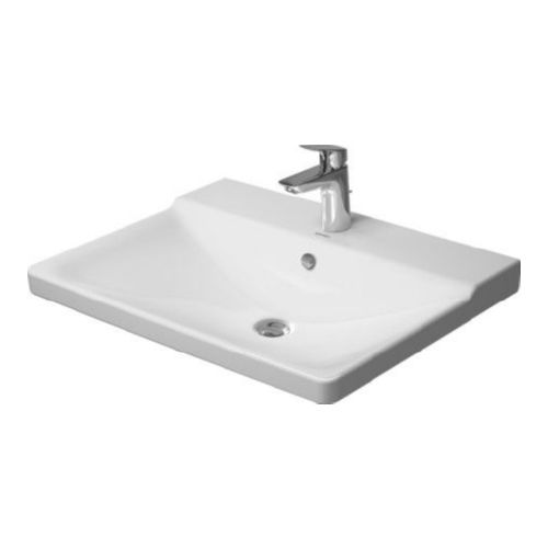 Duravit 2332650000 P3 Comforts Drop In Vitreous China Bathroom Sink
