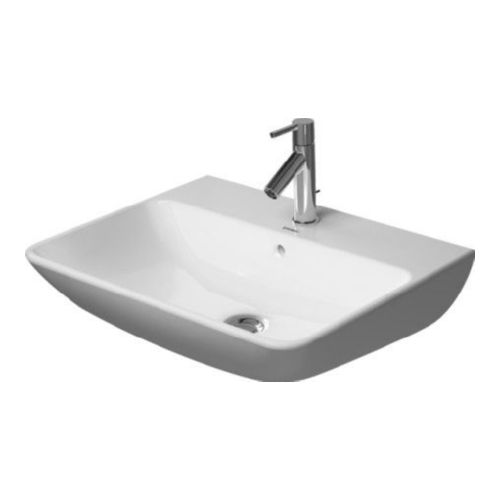 Duravit 2335600030 Me by Starck Wall Mount Vitreous China Bathroom Sink