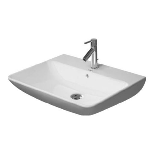 Duravit 2335650000 Me by Starck Wall Mount Vitreous China Bathroom Sink