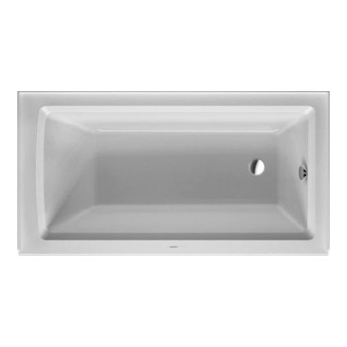 Duravit 700353000000090 Architec Soaking Bathtub White