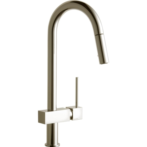 Elkay LKAV1031NK Pullout Spray Deck Mount Kitchen Faucet Brushed Nickel
