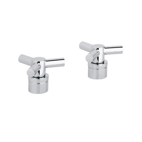 Grohe 18033000 Atrio Bathroom Faucet Handle Starlight Chrome
