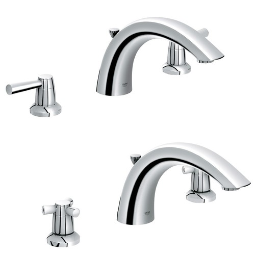 Grohe 25071000 Arden Tub Faucet Starlight Chrome