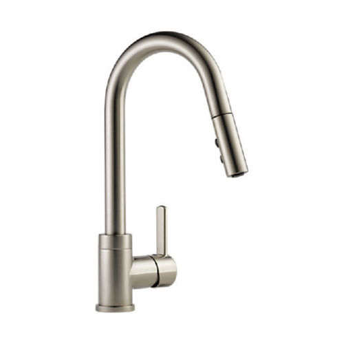 Delta P188152LF-SS Peerless Apex Pullout Spray Centerset Kitchen Faucet Stainless