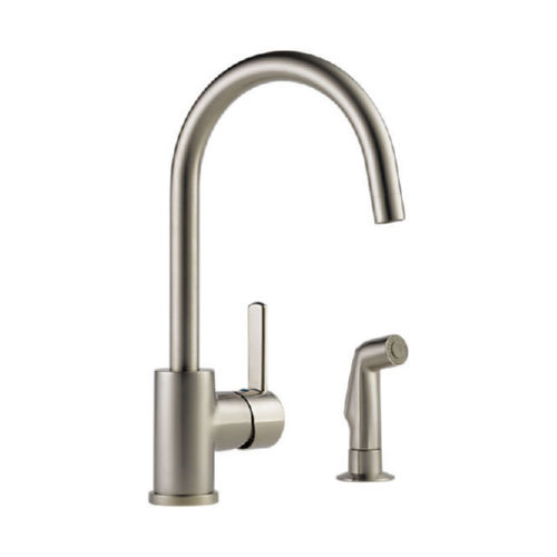 Delta P199152LF Peerless Apex Kitchen Faucet -SS Stainless With Sidespray