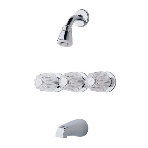 Pfister LG01-1120 01 Series Tub and Shower Faucet Chrome