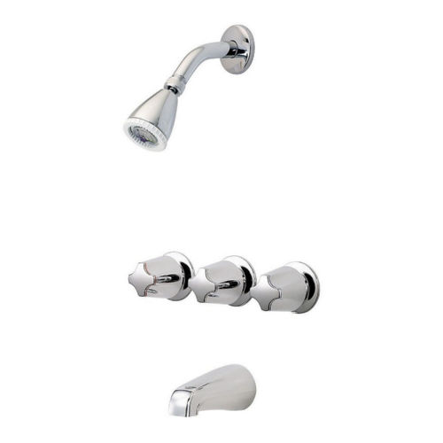 Pfister LG01-3410 01 Series Tub and Shower Faucet Chrome