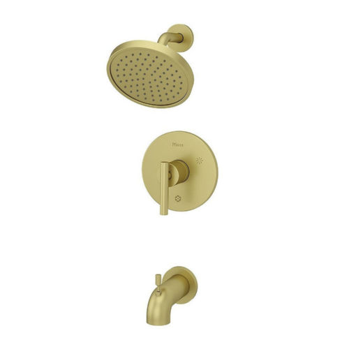 Pfister LG89-8NCBG Contempra Tub and Shower Faucet Brushed Gold