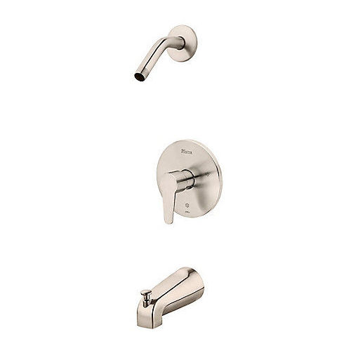 Pfister R89-070K Pfirst Modern Shower Faucet Brushed Nickel