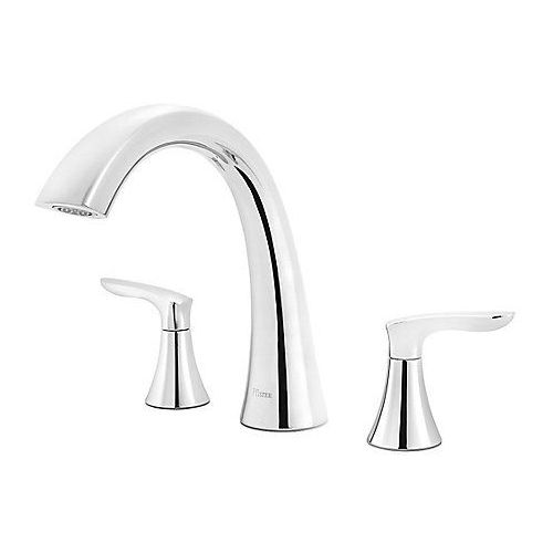 Pfister RT6-5WRC Weller Tub Faucet Polished Chrome