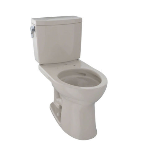 Toto CST454CUFG#03 Drake Elongated Two Piece Toilet Bone