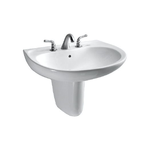 Toto LHT242G#01 Prominence Wall Mount Vitreous China Bathroom Sink Cotton White