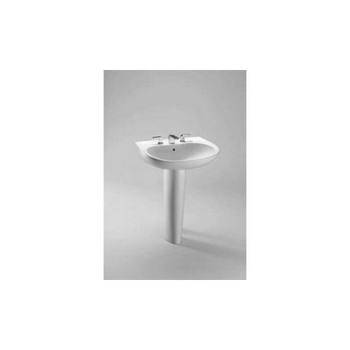 Toto LT242G#01 Prominence Wall Mount Vitreous China Bathroom Sink Cotton White