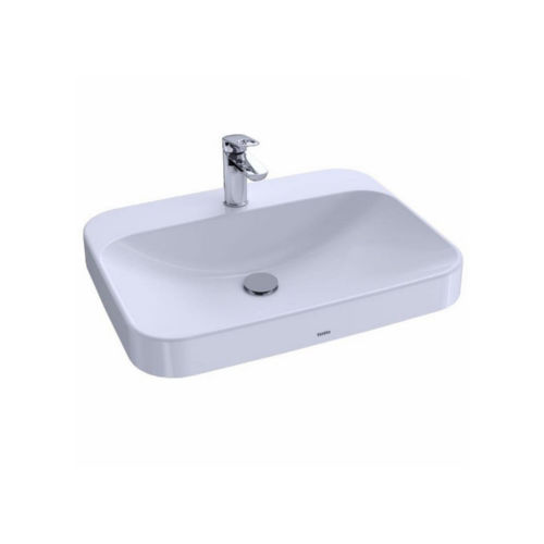 Toto LT416G#01 Arvina Vessel Vitreous China Bathroom Sink Cotton White
