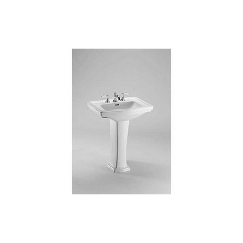 Toto LT780.8#01 Clayton Pedestal Vitreous China Bathroom Sink Cotton White
