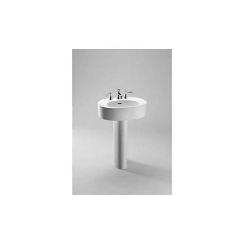 Toto LT790.4#01 Nexus Pedestal Vitreous China Bathroom Sink Cotton White