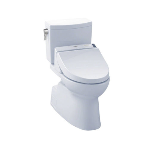 Toto MW4742044CUFG#01 Vespin Ii Elongated Two Piece Toilet Cotton White