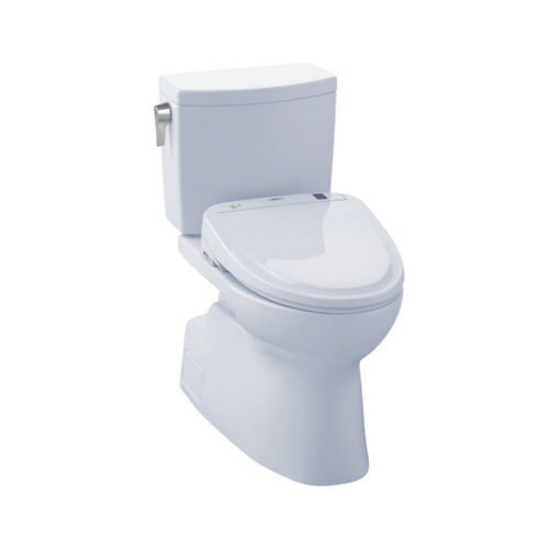 Toto MW474574CUFG#01 Vespin Ii Elongated Two Piece Toilet Cotton White