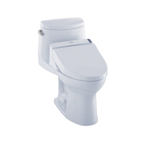 Toto MW6042044CEFG#01 Ultramax Ii Elongated One Piece Toilet Cotton White