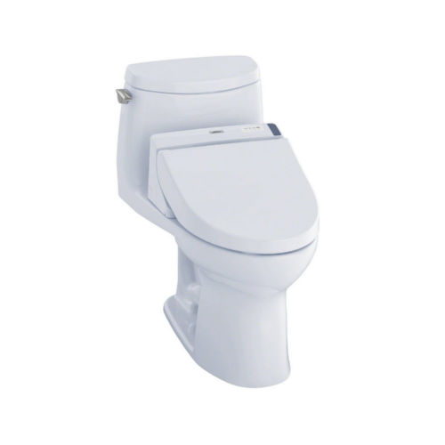 Toto MW6042044CUFG#01 Ultramax Ii Elongated One Piece Toilet Cotton White